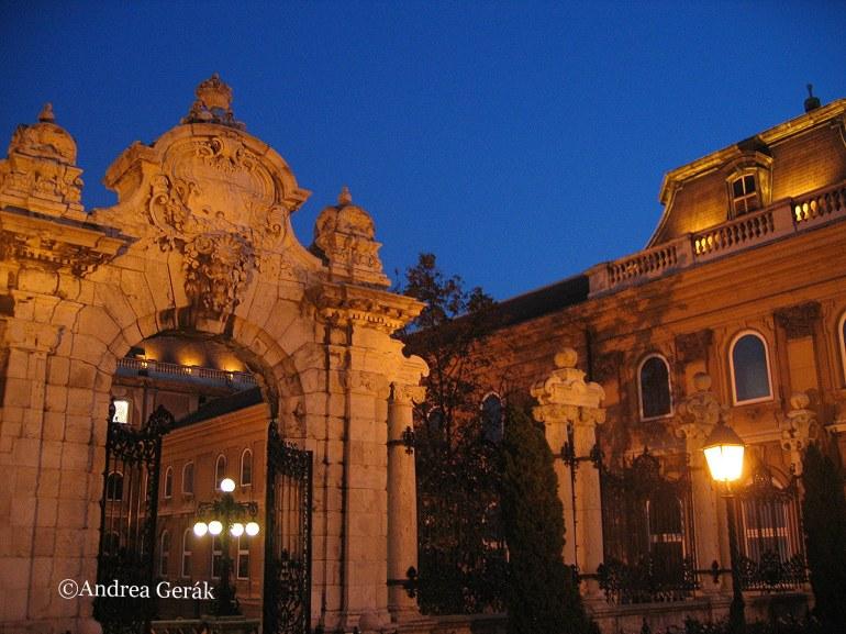 Corvinus Gate of Buda Castle, Budapest